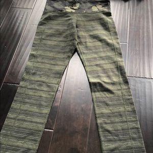 lululemon green leggings